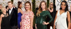 Pregnant-Celebrities-2014-Golden-Globes